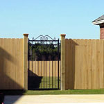 Bespoke wrought irone gate